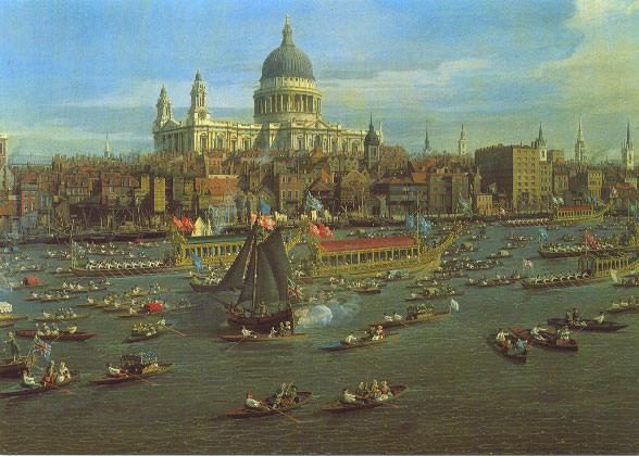 Canaletto a londra s paul durante la festivit di lord mayor for Soggiorni londra