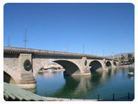 London Bridge Lake Havasu City in Arizona